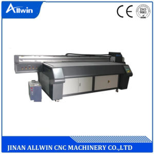 넓은 체재 평상형 트레일러 UV 인쇄 기계 Ricoh 맨 위 UV 잉크