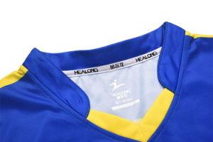 Mettre votre nom Healong impression en sublimation Mens uniforme de volley-ball