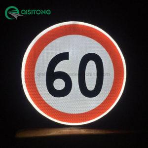 Avvertimento chiaro riflettente splendente di luce propria personalizzato di sicurezza del segno di traffico stradale di stendimento planare LED di energia solare del segno del passaggio pedonale