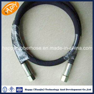 SAE100 R17 einfache oder doppelte Stahlflechte verstärkter hydraulischer Schlauch