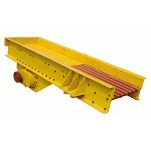 Delantal de industriales de la máquina de alimentación de grava electromagnética del alimentador de vibración de motor lineal
