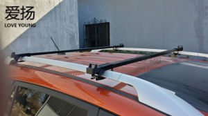 Углеродистой стали дешевле универсальный черный ход перевозчик багажник автомобиля поперечина крыши