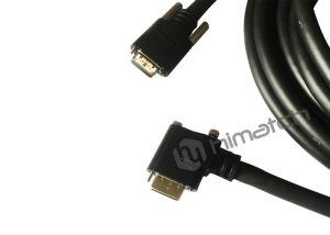 Au cours de l'alimentation Camera Link Mdr à DTS Câble pour appareil photo CCD et système de vision de la machine