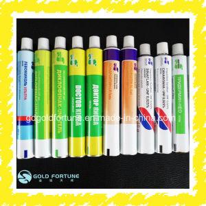 安い医学の軟膏または毛カラーか接着剤のアルミニウム包装の管