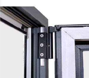 Ruptura térmica em alumínio de Hardware na janela Bi-Folding Alemão