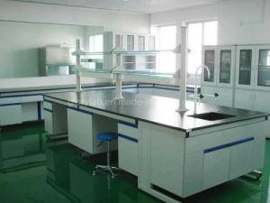 試薬の棚(JH-WF059)が付いている木製および鋼鉄実験室の家具
