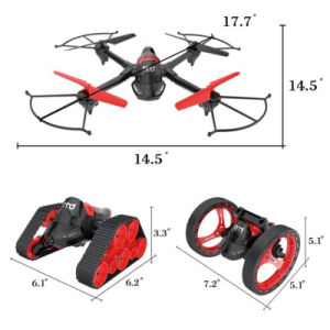 Fpv WiFi Camera 3 in 1 2.4GHz RC 6-as Quadcopter