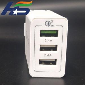Нам разъем телефона зарядное устройство USB горячая продажа Many-Function& Portstravel адаптер зарядного устройства с 3 портами USB