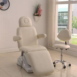 Salon Face PU Blanc 3 Cosmétique Beauté Facial Lit électrique Pliant Avec  Chaise De Salon Blanc Pour Tatouage, Spa Facial, Massage Facial