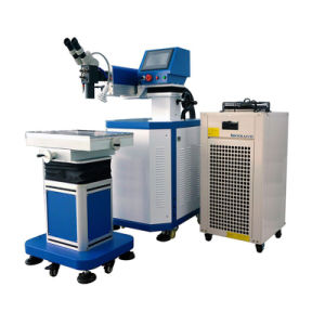 Gravação a laser do molde para a máquina de soldar metais gerais de utilização de mão automático