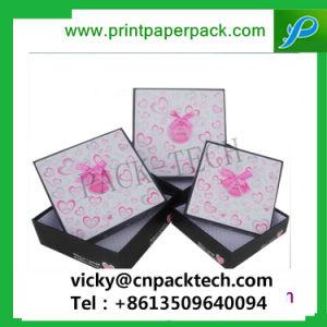 Bestellte deluxe Baumwolle gefüllte Geschenk-Kasten-erstklassige Papiergeschenk-Kästen voraus