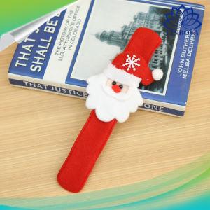 Рождество Санта Клаус снежную бабу оленя похлопайте круг LED браслет детей группа Игрушки украшения