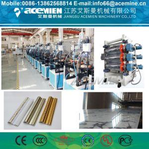 Comitato decorativo UV del PVC del marmo che fa macchina
