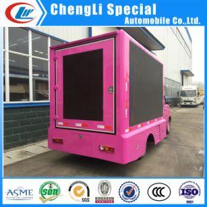 販売のために通りLEDの移動式トラックを広告する屋外の表示
