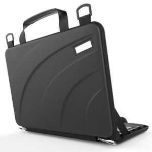 Les vagues de gaufré étanche EVA sacoche pour ordinateur portable sacs à main CAS (FRT2-558)