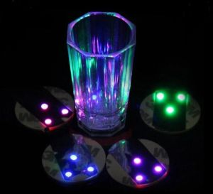 LEIDENE van de Ideeën van de Verlichting van de staaf Sticker om Onderlegger voor glazen voor Fles