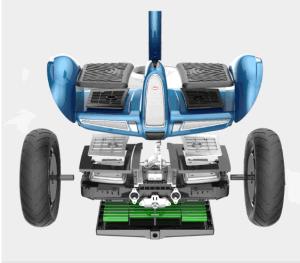 60V 500W de la parte trasera usar Smart dos ruedas Scooter eléctrico motor de CC