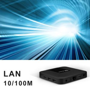MiniAndroid Tx3 Fernsehapparat-Kasten S905 2GB RAM/16GB ROM mit dem Digitalanzeigen-Support zutreffendes 4K spielend, WiFi, BT