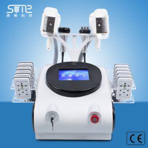 La pérdida de peso Lipo Laser Cryolipolysis congelar RF cavitación Cavitaton 40K de la máquina para adelgazamiento