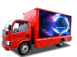 フルカラーLED TVの移動式手段、スクリーンのトラックを広告するP6 P8の高い定義の製造業者