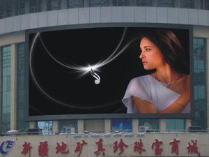 Haute luminosité P8 pleine couleur affichage LED pour la publicité de plein air