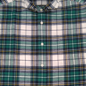 De lange Koker paste de Gepaste van het Katoenen van Overhemden Overhemden van de Ontwerper Flanel van Mens aan