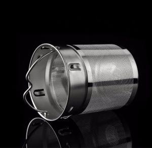 Doppel-wandiges hitzebeständiges bewegliches rautenförmiges Kristallglas-Cup