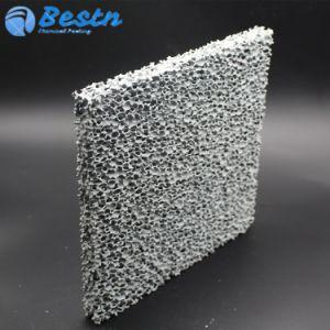 Haute résistance en céramique du filtre en céramique filtre en mousse pour la coulée