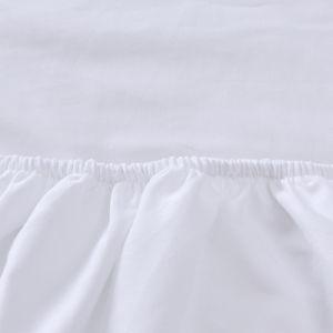 고품질 100%년 고무 밴드를 가진 면 적합하던 침대 시트