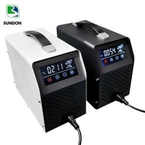 China Venta caliente mando a distancia con pantalla táctil LCD de 10g 20g 30g 40g purificador de aire generador de ozono portátil para el hogar/Car
