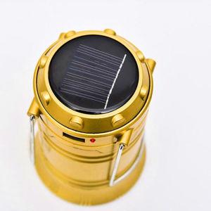 La vente directe d'usine a conduit la lumière solaire solaire lanterne de Camping