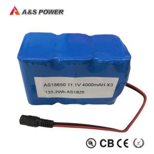 18650 recarregável Bateria de lítio de 3.7V 2600mAh com certificado de Kc