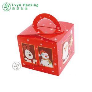 La navidad Apple envases de cartón Caja de papel de regalo
