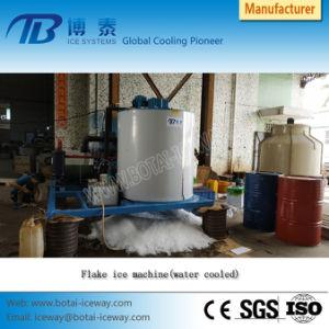macchina di fabbricazione del creatore di ghiaccio del fiocco dell'uscita quotidiana 10t/ghiaccio del fiocco