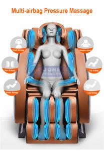 Amasar en 3D de Shiatsu Silla de Masajes gravedad cero con el masajeador de pie