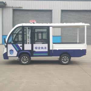 Elevadores eléctricos de carro da polícia do Barramento de jantar personalizado