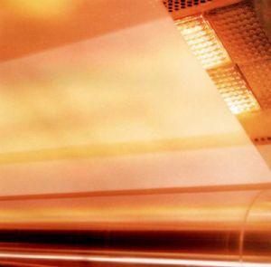 가스 서류상 건조를 위한 적외선 금속 섬유 가열기