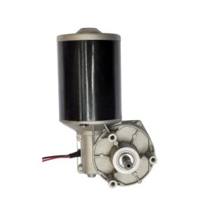 200 rpm elevado par motor a bajas revoluciones gusano 12V DC motorreductor