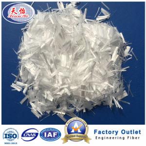 Fibra de PP 18mm 100% monofilamentos de polipropileno para material de construção de fibra