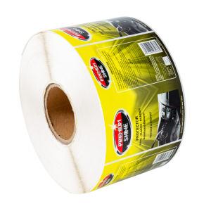 PE/PP/PVC/PET/vinilo autoadhesivo de embalaje de rollos de etiquetas etiqueta