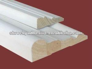 Adhesivo termofusible para ajuste de perfil de trabajo de la madera