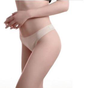 Comercio al por mayor sexy mujer G-String señoras ropa de algodón Seamless T-Back Panty