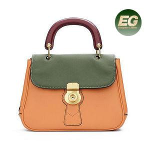 8f405232e6d La capa superior de color elegante Bolso de mujer piel Charol de colisi n  de bolsos de mano de las mujeres el GGA5085