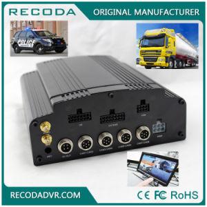 Recoda HDD 8CH D1 4G 3G GPS WiFi Echtzeitüberwachung-mobiles Auto DVR für Bus-Taxi-LKW