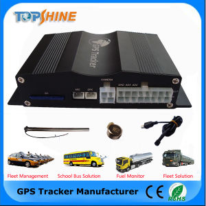 Камера с двойной датчик уровня топлива датчик столкновения автомобиля GPS Tracker