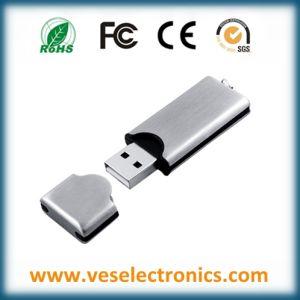 Содействие металла с логотипом USB Memory Stick™ 64 ГБ 1 ГБ флэш-накопитель USB