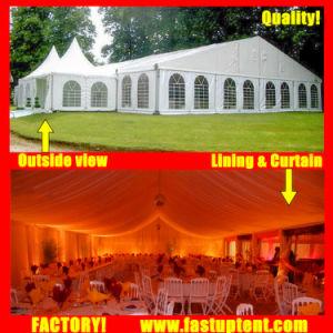 Tent 6X12m 6m X 12m 6 van de Markttent van het Aluminium van de Gebeurtenis van de Partij van het huwelijk door 12 12X6 12m X 6m