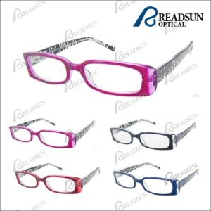Hand - gemaakte Acetaat Reading Glasses met Pattern (RA287004)