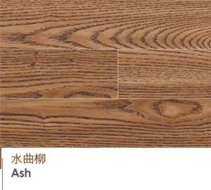 純木のフロアーリングの灰の純木木