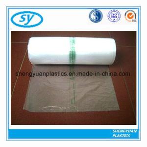 La nourriture des sacs en plastique transparent imprimé sur le rouleau